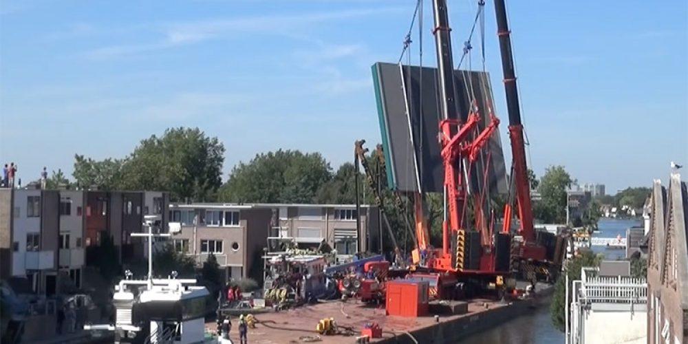 Raport z wypadku dźwigu w Alphen aan den Rijn