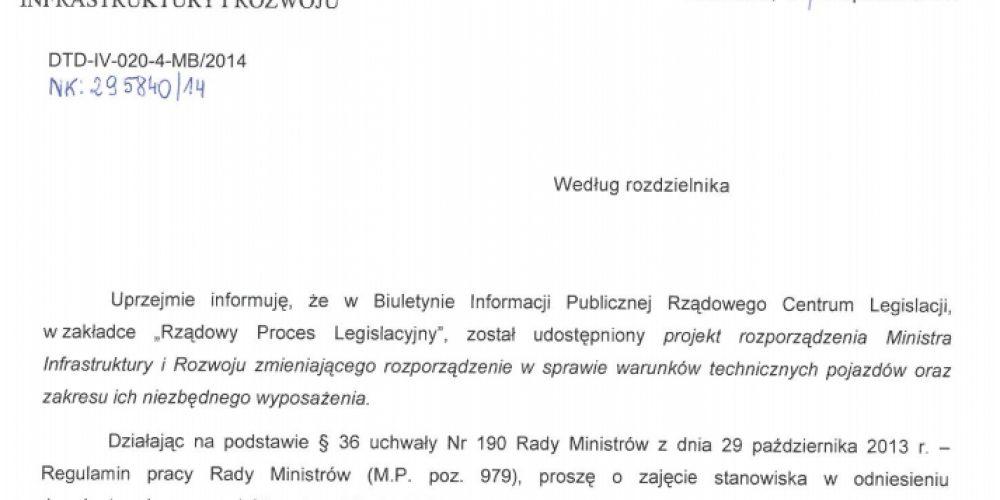 Zaproszenie na spotkanie przewoźników i producentów naczep specjalistycznych – 25.11.2014 r. w Opolu