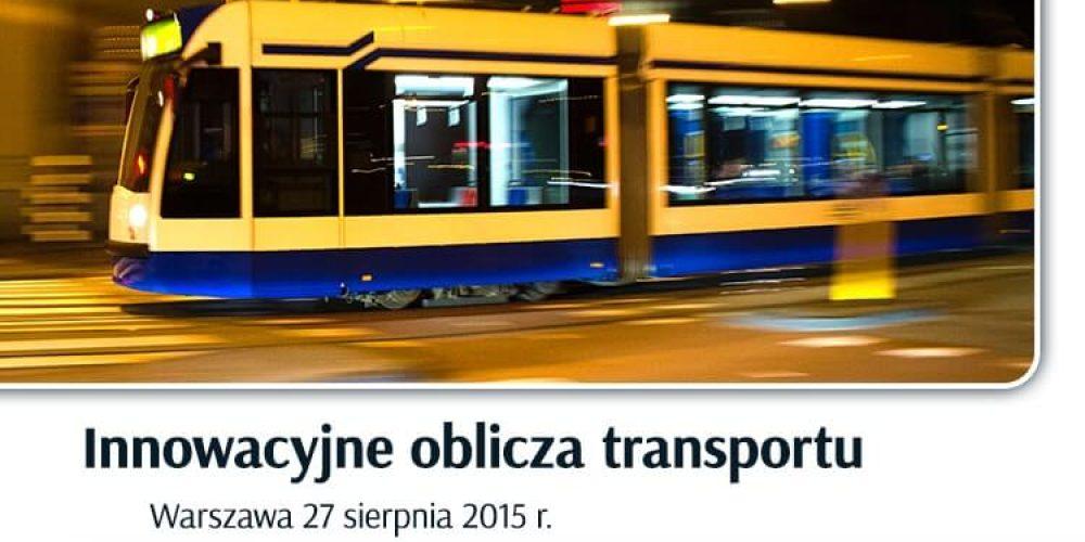 Innowacyjne oblicza transportu 2015
