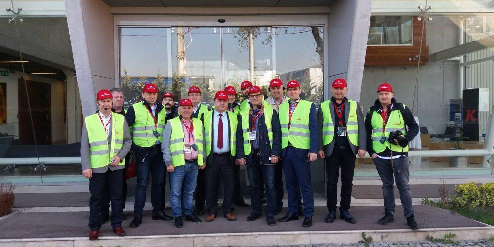Wizytacja OSPTN w największej fabryce naczep firmy Kässbohrer