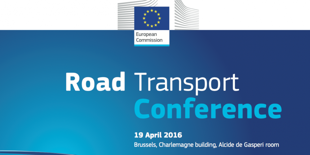 Udział Prezesa OSPTN w konferencji pt. Road Transport Conference w Brukseli