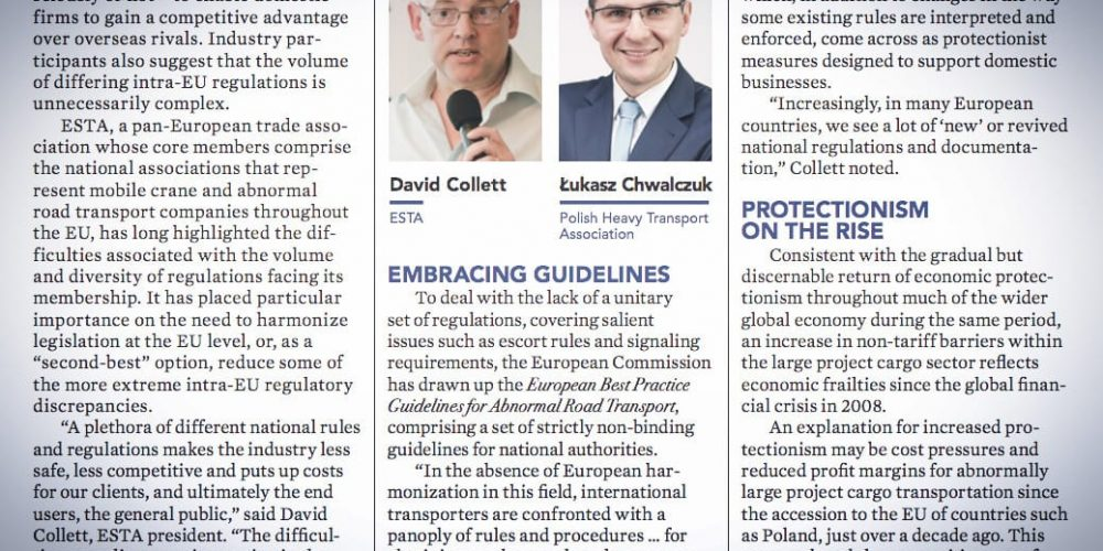 Komentarz prezesa OSPTN w najnowszym Breakbulk Magazine