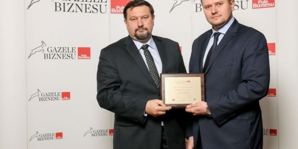 Członek OSPTN – firma DEMARKO uhonorowana Gazelą Biznesu 2016