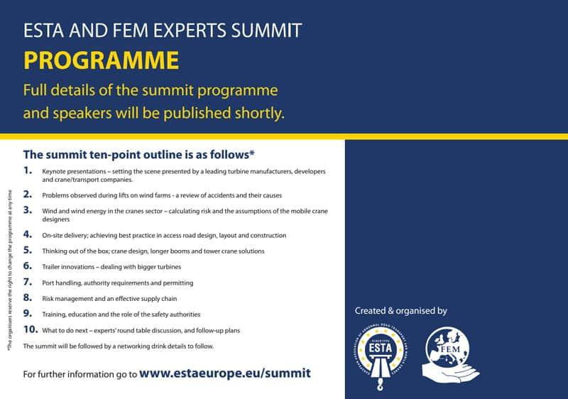 esta-fem-summit-programme