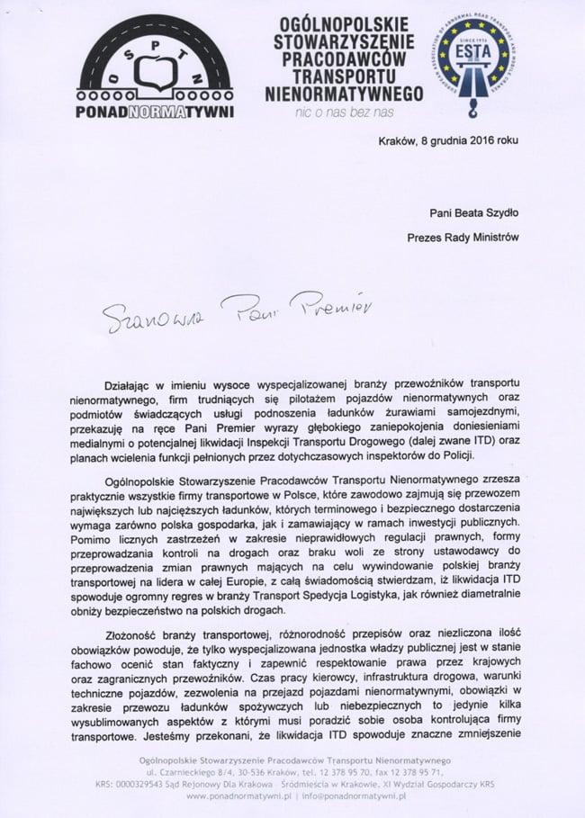 pismo-osptn-do-prezes-rady-ministrow