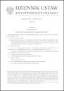 Ustawa z dnia 18 grudnia 2020 r. o zmianie ustawy o drogach publicznych oraz niektórych innych ustaw