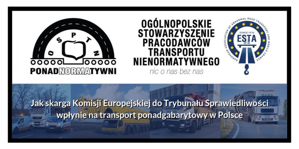 Jak skarga Komisji Europejskiej do Trybunału Sprawiedliwości wpłynie na transport ponadgabarytowy w Polsce