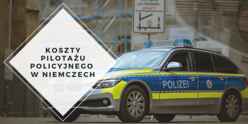 Pilotaż policyjny w Niemczech – ile czasu ma policja na wystawienie faktury?