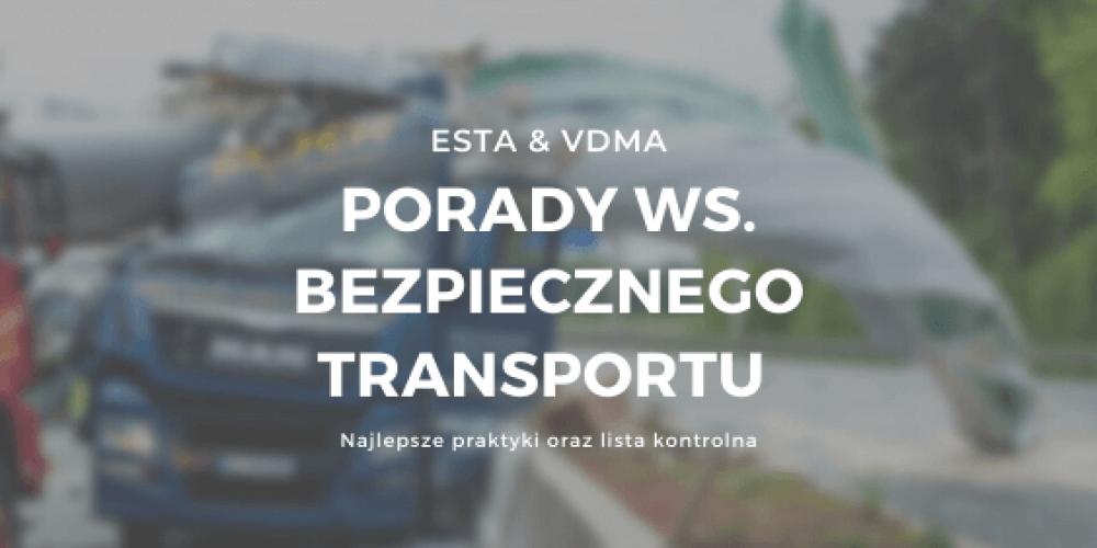 Porady ws. bezpiecznego transportu od ESTA i VDMA