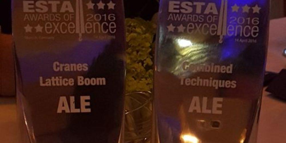 Członek OSPTN – firma ALE wśród zwycięzców ESTA Awards 2016