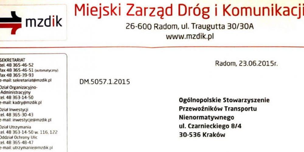 Radom, Częstochowa, Olkusz – zgłoś newralgiczne lokalizacje w Polsce