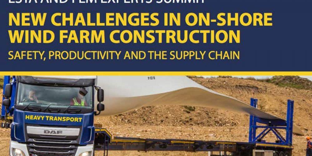 Bezpieczeństwo i wydajność w trakcie pracy przy budowie farm wiatrowych