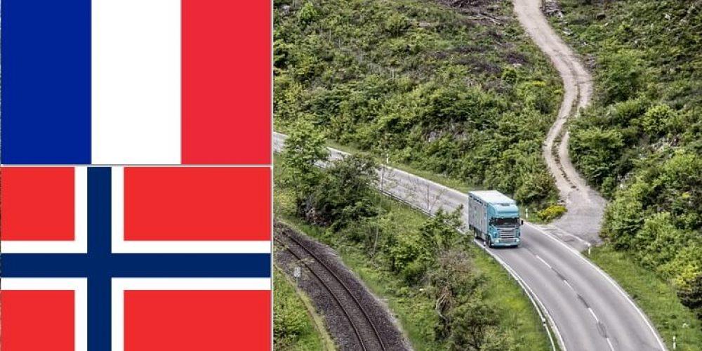 Płaca minimalna dla kierowców ciężarówek we Francji i Norwegii