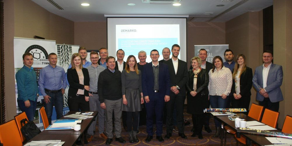 Relacja ze szkoleń zorganizowanych przez OSPTN wraz z DEMARKO Special Trailers w Poznaniu i Opolu