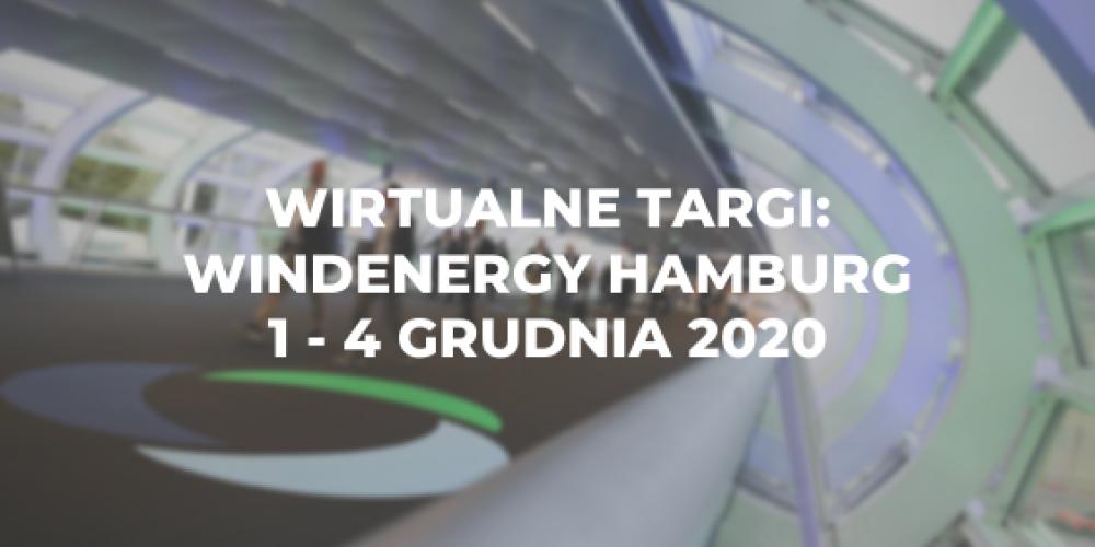 Wirtualne targi: WindEnergy Hamburg, 1 – 4 grudnia 2020