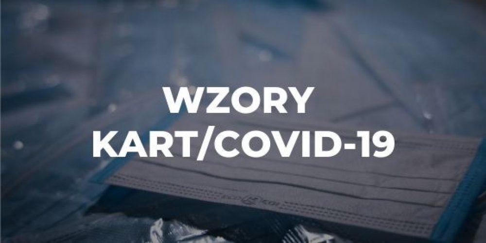 Wzory kart/COVID-19