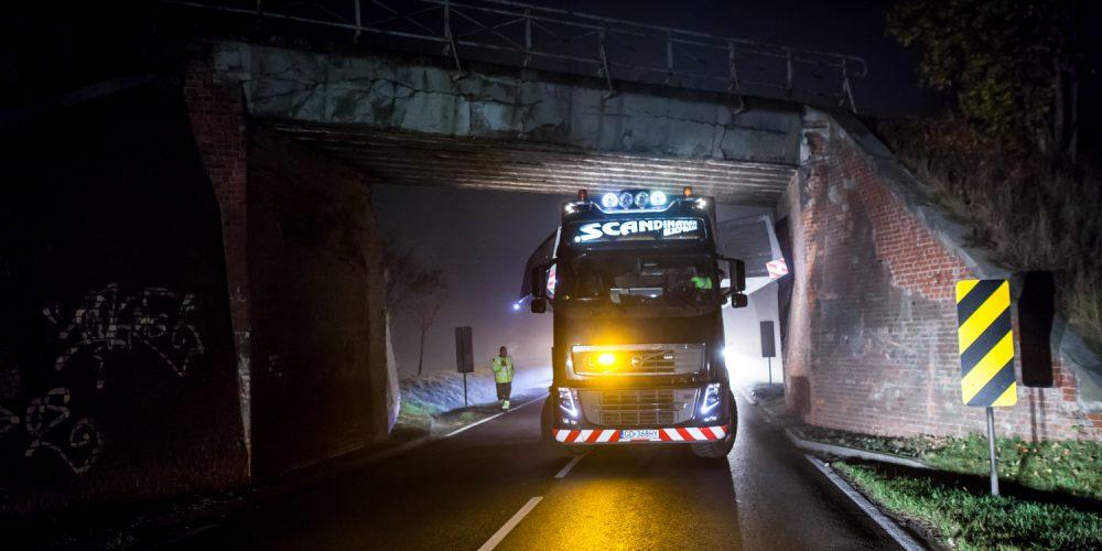 Intermodalny transport ponadgabarytowy Scandinavian Express Poland